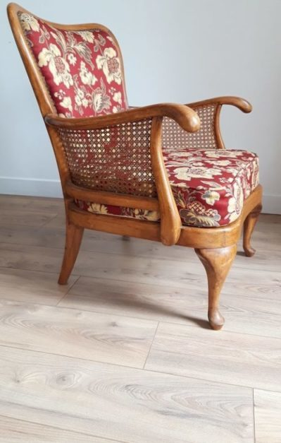 Fauteuil anglais Chippendale