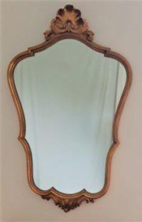 Grand miroir doré baroque